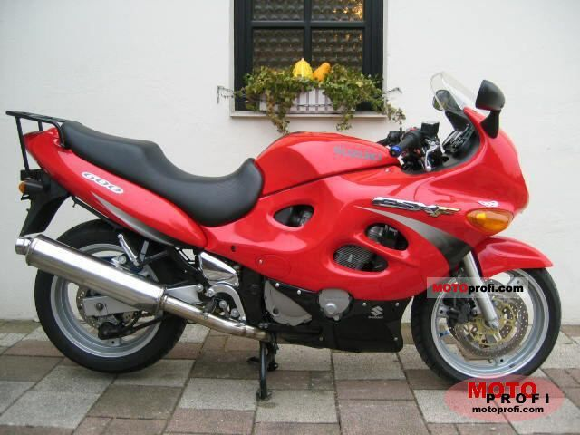 suzuki gsx 600 f 2000 specs and photos. Black Bedroom Furniture Sets. Home Design Ideas
