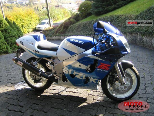 Suzuki Gsx R 600 1999 Specs And Photos