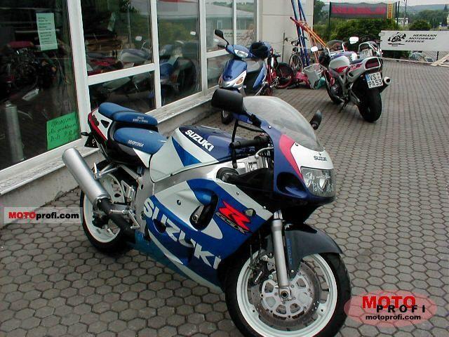 Suzuki Gsx R 600 2000 Specs And Photos