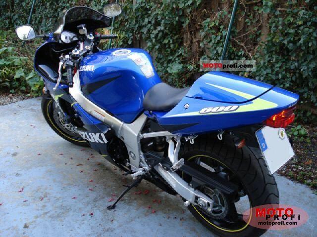 Suzuki Gsx R 600 2001 Specs And Photos