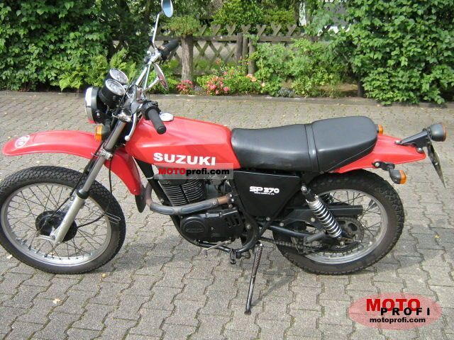 suzuki sp 370 1979 specs and photos. Black Bedroom Furniture Sets. Home Design Ideas