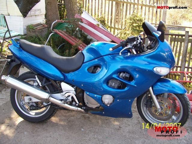Suzuki Gsx 750 F 1998 Specs And Photos