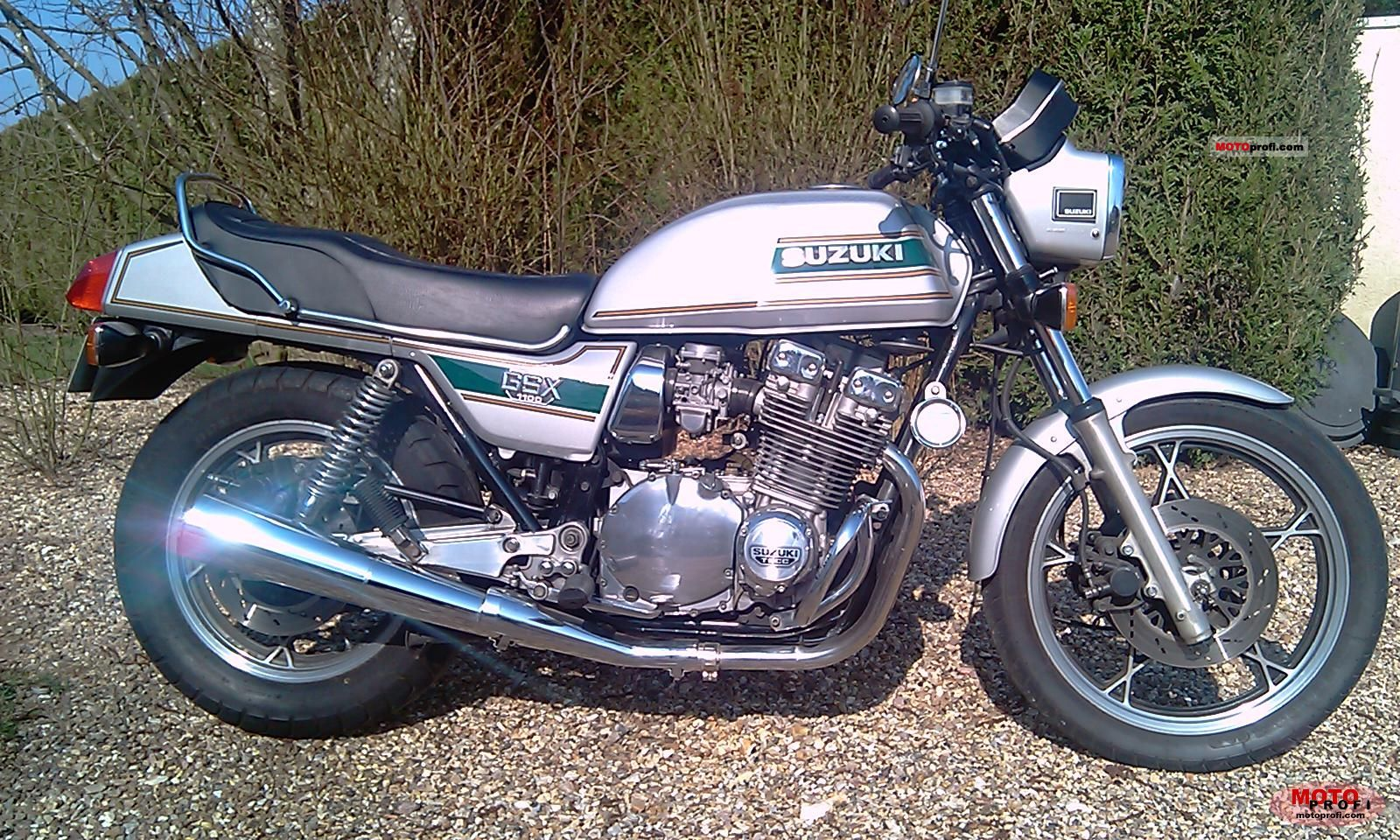 Gsx 1100 1980 on bmw 4 cylinder engine for sale