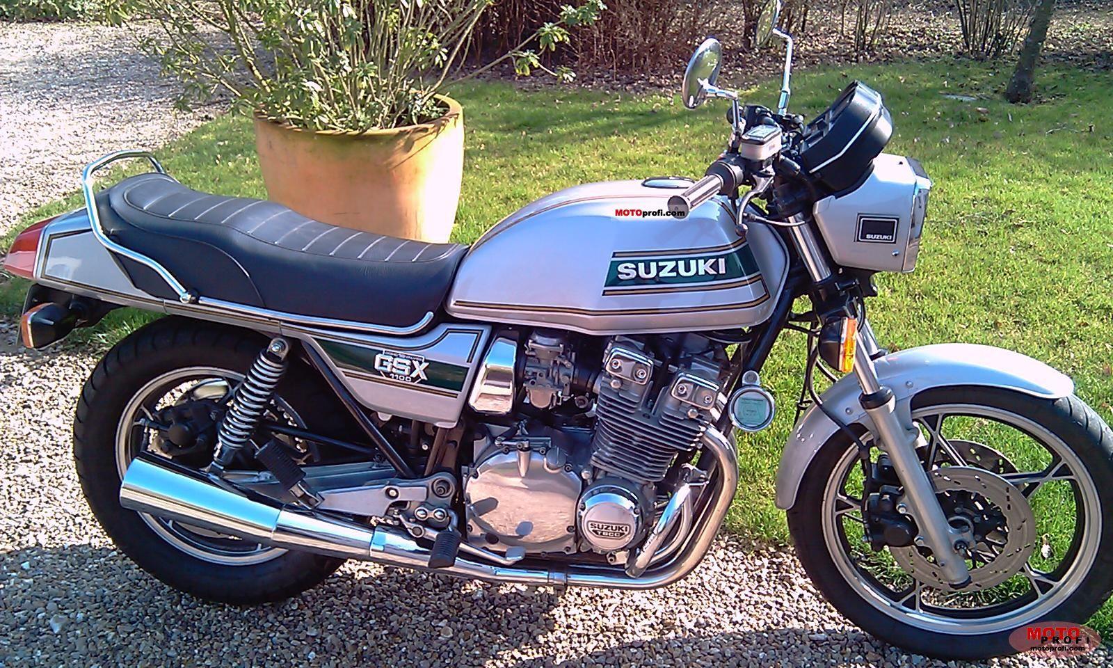 Moto Suzuki Gsx 1100 – Idea di immagine del motociclo