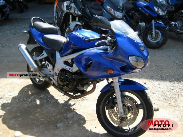 2000 Suzuki SV 650 specifications and pictures