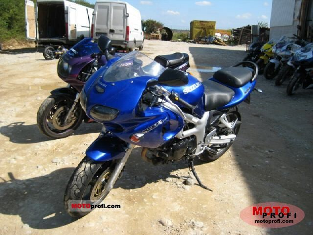 2000 Suzuki SV 650 - Moto.ZombDrive.COM