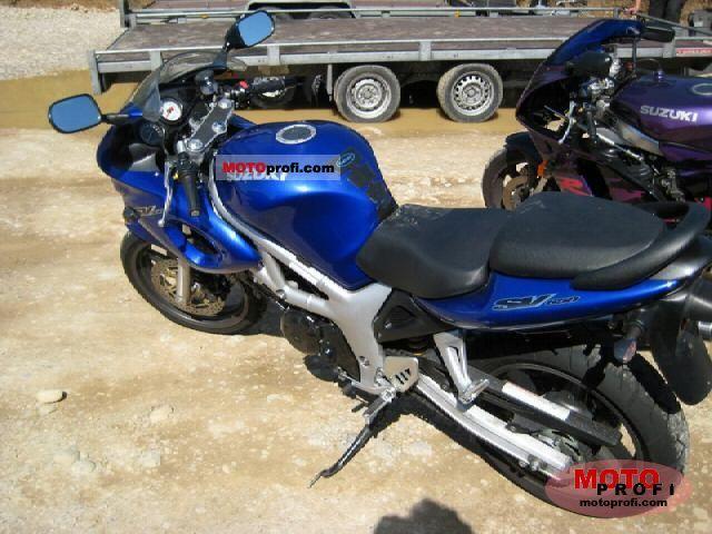 2000 Suzuki SV 650 S: pics, specs and information