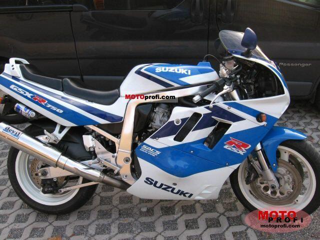 Suzuki GSX-R 750 1991 Specs and Photos