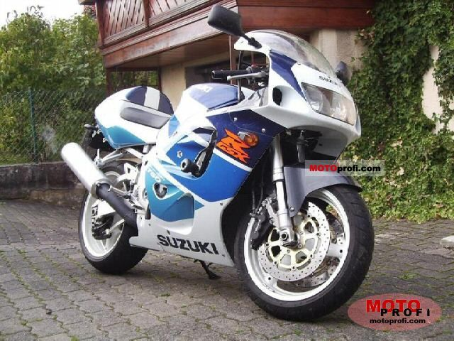 Suzuki Gsx R 750 1998 Specs And Photos