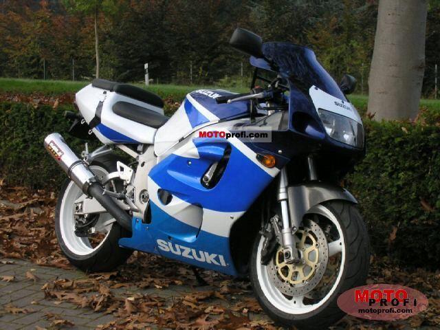 Suzuki GSX-R 750 1999 Specs and Photos