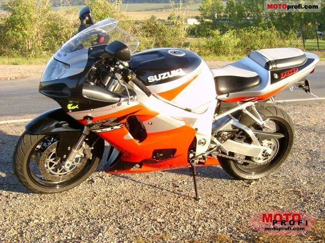 Suzuki GSX-R 750 2001 Specs and Photos