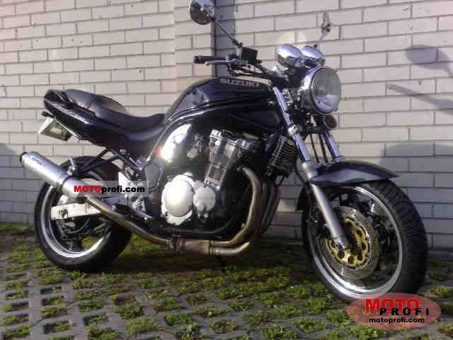 suzuki gsf 600 n bandit 1998 specs and photos. Black Bedroom Furniture Sets. Home Design Ideas