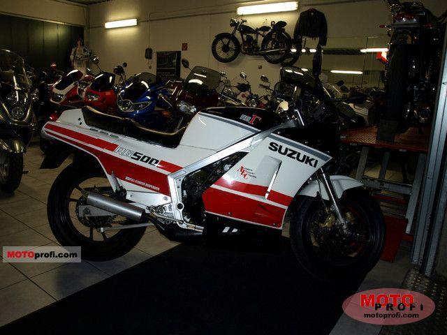Suzuki rg500 gamma фото