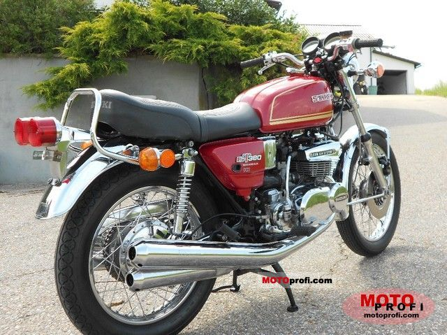 suzuki gt 380 1975 specs and photos. Black Bedroom Furniture Sets. Home Design Ideas
