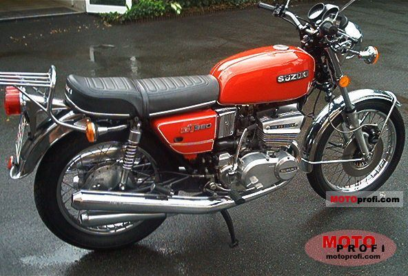 suzuki gt 380 1978 specs and photos. Black Bedroom Furniture Sets. Home Design Ideas