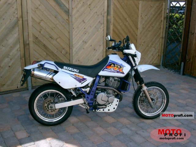 suzuki dr 650 se 1996 specs and photos