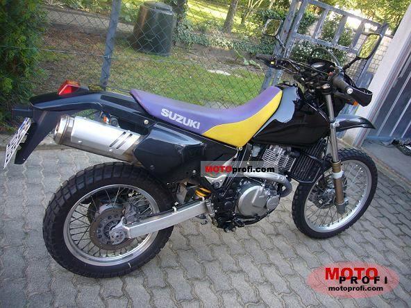 1997 suzuki dr650 specs