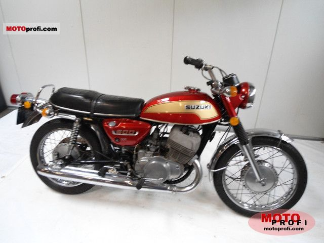 Suzuki T 500 1974 photo