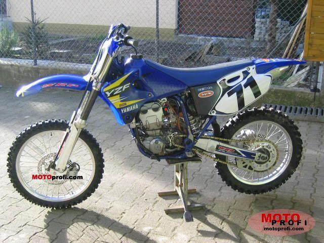 Кроссовый мотоцикл yamaha yz426f 2002г в без двс: техника - мотоспортивная техника - спортивный мотоцикл