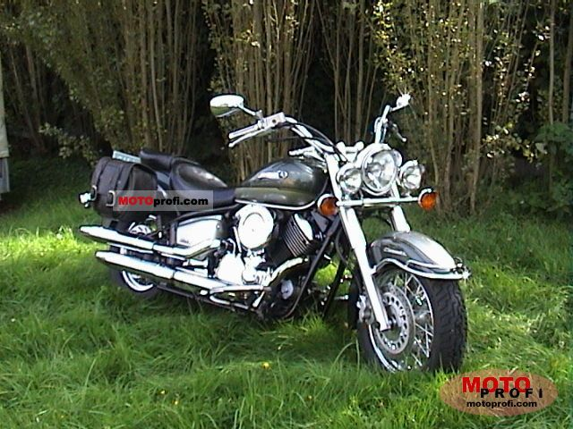 yamaha xvs 1100 a drag star classic 2000 specs and photos. Black Bedroom Furniture Sets. Home Design Ideas