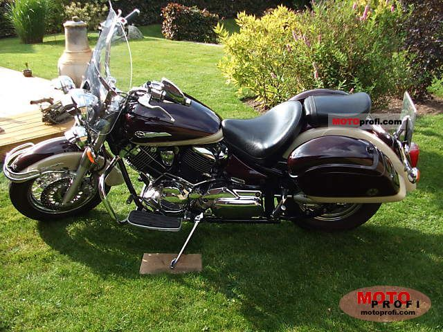 yamaha xvs 1100 a drag star classic 2001 specs and photos. Black Bedroom Furniture Sets. Home Design Ideas