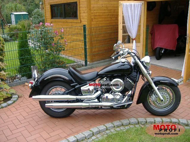 yamaha xvs 1100 a drag star classic 2003 specs and photos. Black Bedroom Furniture Sets. Home Design Ideas