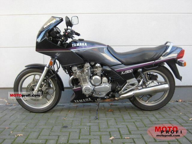 Yamaha Xj 900 F 1992 Specs And Photos