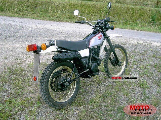 Yamaha xt 250 1982 specs and photos for Yamaha xt250 specs