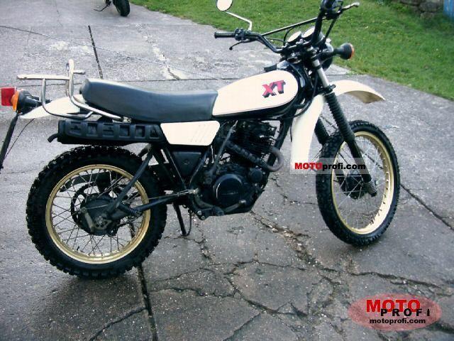 Fabulous Yamaha Xt 250 1983 Specs And Photos Camellatalisay Diy Chair Ideas Camellatalisaycom