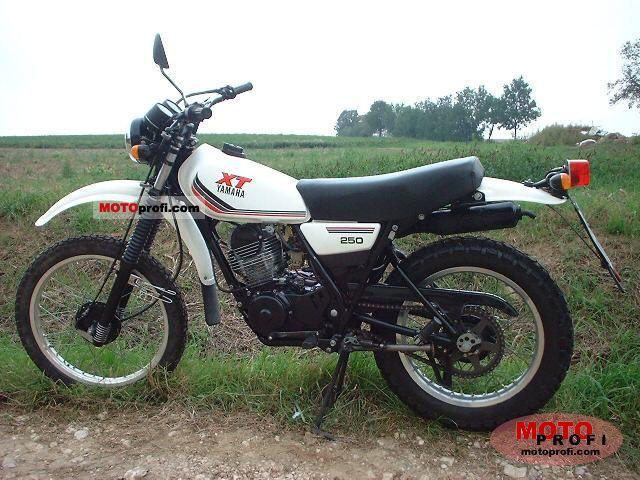 Yamaha xt 250 1988 specs and photos for Yamaha xt250 specs