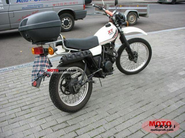 Yamaha xt 250 1990 specs and photos for Yamaha xt250 specs