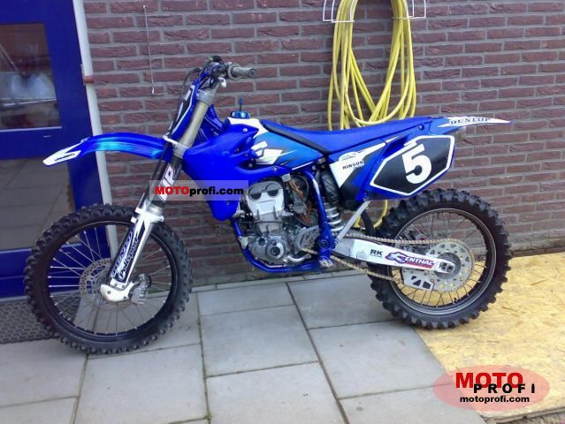 Fine Yamaha Yz 450 F 2004 Specs And Photos Ocoug Best Dining Table And Chair Ideas Images Ocougorg