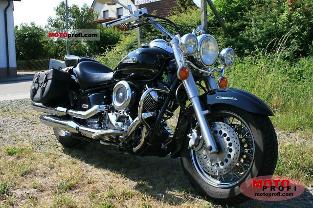 yamaha xvs 1100 a dragstar classic 2004 specs and photos. Black Bedroom Furniture Sets. Home Design Ideas