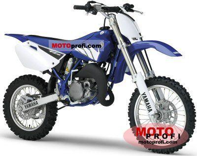 Yamaha yz 85 2005 specs and photos for Yamaha yz85 top speed