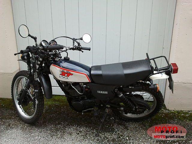 Yamaha XT 500 1990 photo