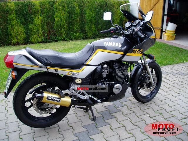 yamaha xj 600 1986 specs and photos. Black Bedroom Furniture Sets. Home Design Ideas