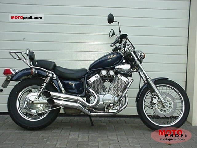 yamaha xv 535 virago 1990 specs and photos. Black Bedroom Furniture Sets. Home Design Ideas