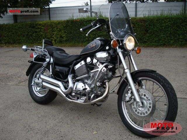 yamaha xv 535 s virago 1995 specs and photos. Black Bedroom Furniture Sets. Home Design Ideas