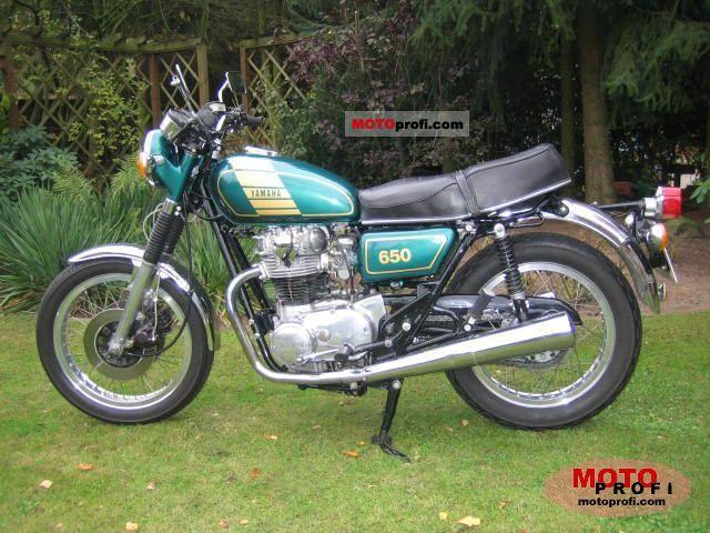 Yamaha XS 650 1977 Specs and Photos