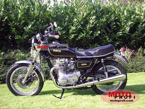 Yamaha XS 650 1984 Specs and Photos
