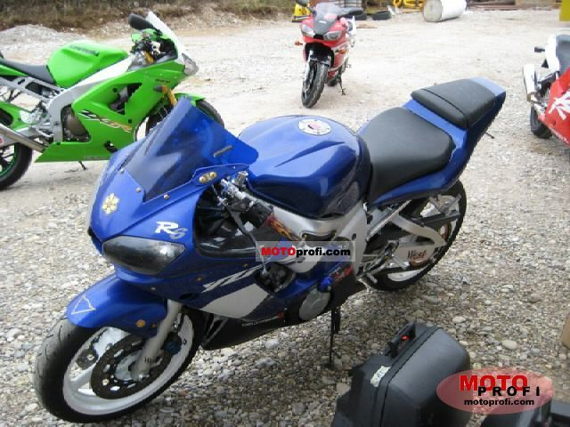 Incredible Yamaha Yzf R6 2001 Specs And Photos Gmtry Best Dining Table And Chair Ideas Images Gmtryco