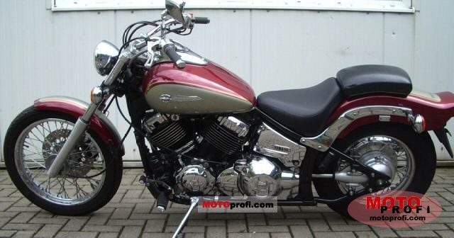 Yamaha XVS 650 Drag Star 2001 Specs and Photos