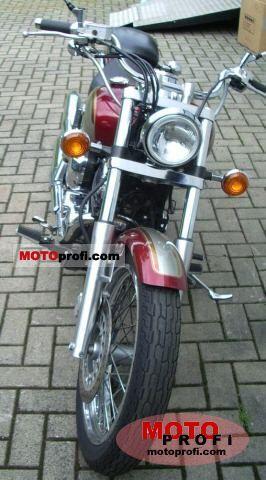 Yamaha XVS 650 Drag Star 2001 Specs and Photos