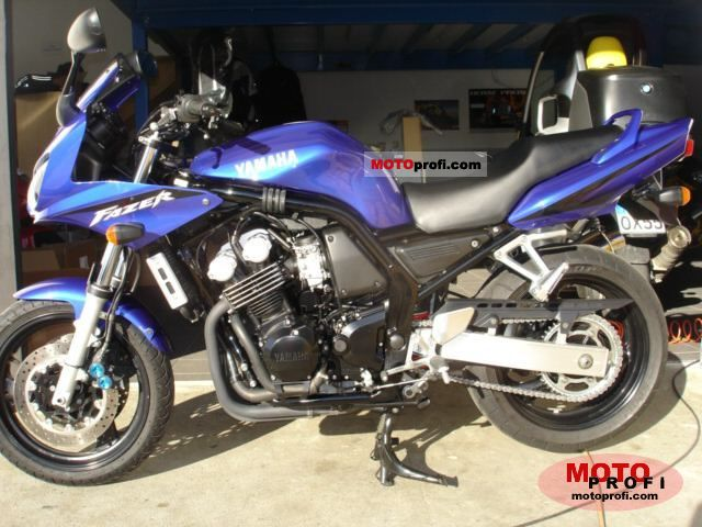 yamaha fzs 600 fazer 2002 specs and photos. Black Bedroom Furniture Sets. Home Design Ideas