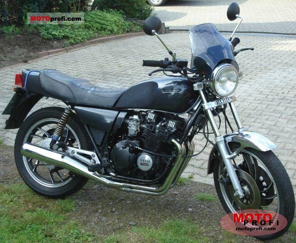 Yamaha xj 550 1981 specs and photos for Yamaha clp 550 specifications