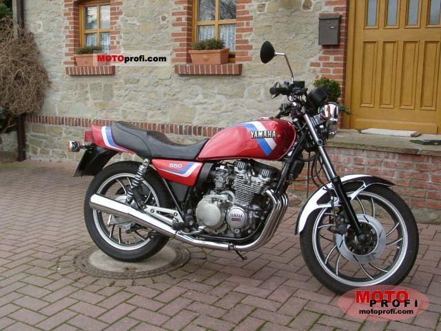Yamaha xj 550 1983 specs and photos for Yamaha clp 550 specifications