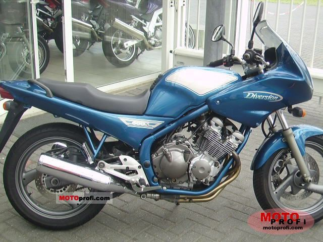 yamaha xj 600 s diversion 1995 specs and photos. Black Bedroom Furniture Sets. Home Design Ideas