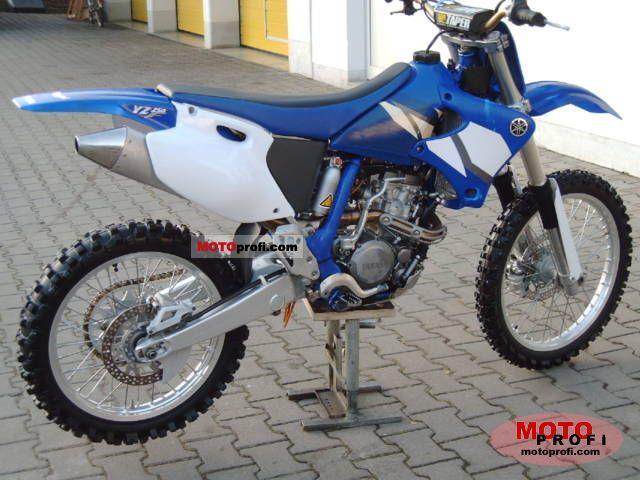 Yamaha Yz 250 F 2002 Specs And Photos