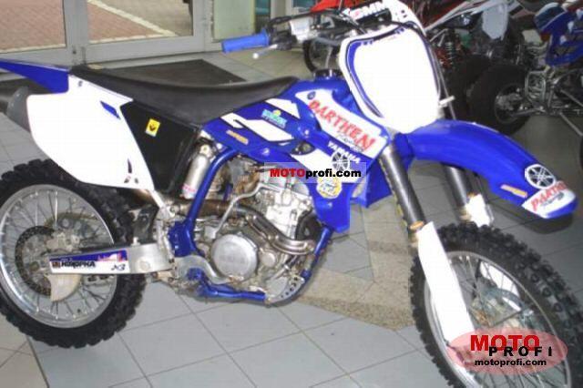 Yamaha Yz 250 F 2005 Specs And Photos