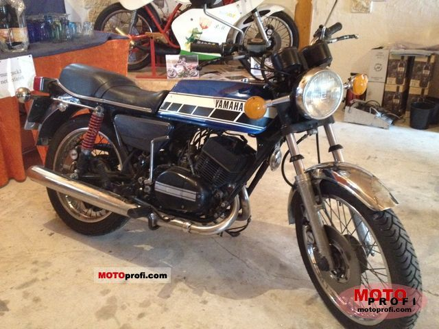 Yamaha RD 250 1978 photo